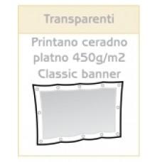 Printan transparent na PVC ceradno platno