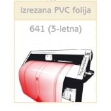 PVC folija 641 (3-letna)