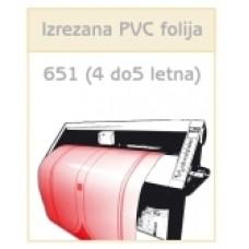 PVC folija 651 (4 do 5 letna)