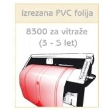 PCV folija 8300 za vitraže (3-5 let)