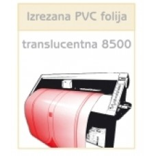 PVC translucentna folija 8500